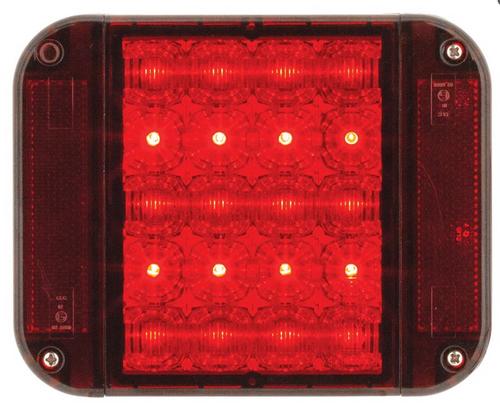 LS9089 - Jumbo LED Stop Tail Lamp Multi-Volt Single Pack. Jaylec. CD. Ultimate LED.