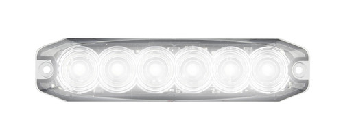 120035WM - Emergency Lamp Strobe White Clear Lens Multi-volt Single Pack. AL. Ultimate LED.