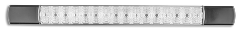285BR12S3 - Centre High Level Stop Lamp. Surface Mount. Slimline, Low Profile. High Brightness LEDs. 12v Only. Single Pack. Autolamps. Ultimate LED.