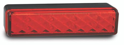 135RMES3 - Centre High Level Stop Lamp. Surface Mount. Slimline, Low Profile. High Brightness LEDs. Multi-Volt 12v & 24v. Single Pack. Autolamps. Ultimate LED.