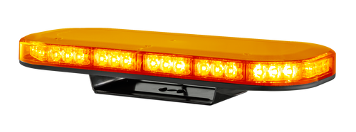LB380AM - Emergency Mini Bars. Surface Mount. Amber Emergency Mini Bar 380 Series. Coloured Lens. Single Bolt Mount. 5 Year Warranty. Multi-Volt 12v & 24v. Class 1. 18 Selectable Flash Patterns. Autolamps. Ultimate LED.