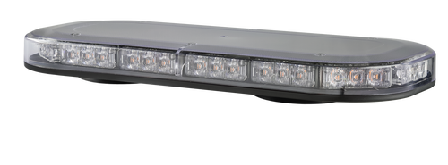 LB380ACMM - Emergency Mini Bars. Surface Mount. Amber Emergency Mini Bar 380 Series. Clear Lens. Magnetic Mount. 5 Year Warranty. Multi-Volt 12v & 24v. Class 1. 18 Selectable Flash Patterns. Autolamps. Ultimate LED.