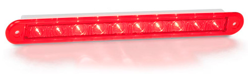 235R24 - Stop, Tail Light. Twin Function Lamp. 24v Only. Recessed Mount. Red Lens & Red LED. LED Auto Lamps. Ultimate LED.