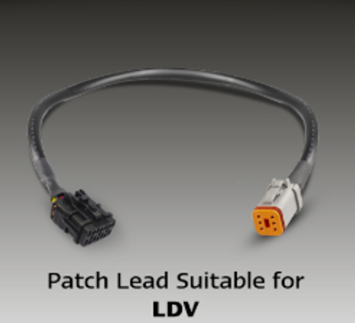 SO282ARWM2LR450+PATCH-LDV - LDV Patch Cable System. Plug and Play. Easy LED Upgrade. Stop, Tail, Indicator and Reverse. Lamp with Conversion Cable, Plug. Prewired Lamp and Patch Lead to Vehicle Loom. To Suit LDV T60 T70. Autolamp. Ultimate LED.
