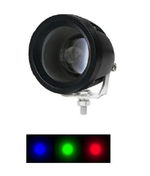 Red Workplace Red Awareness Beam, Safety Light LED Spot Beam 8 Degree P/N: FLRS-15 www.ultimateled.com.au
