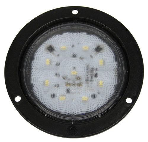 M818W-9 - Interior, Exterior Round Light. Multi-Volt. Water & Dust Proof. Super Low Current Draw. Peterson. RV. Ultimate LED.