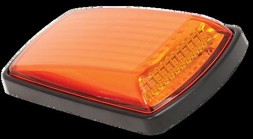3102BM - Side Direction Indicator. Black Housing. Cat 6 Light. Low Profile. Single Pack. Autolamp. Ultimate LED.