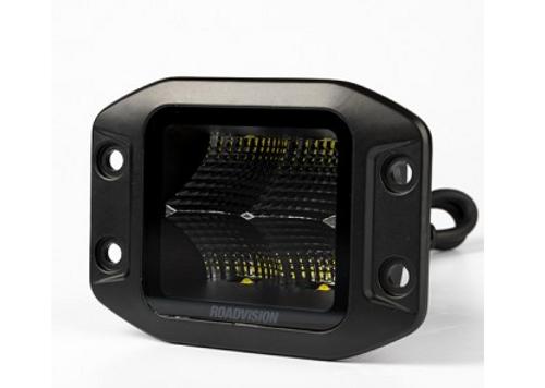 RWL4840FFM - Work Light Square. Flood Beam. Multi-Volt. Flush Mount. Single Pack. 5 Year Warranty. RoadVision. Ultimate LED.