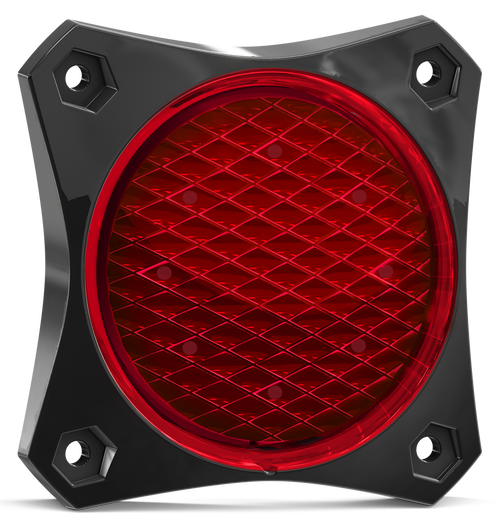 88RM2 - Stop Tail Rear Tail Light. 88 Series Light. Low Profiles Design. Surface Mount. Multi-Volt 12-24v. Twin Blister Pack. Autolamp. Ultimate LED.