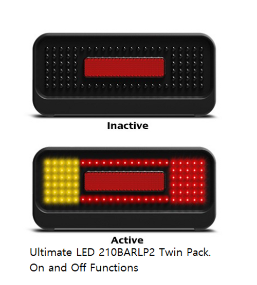 Bulletproof Boat Trailer Light Kit. Stop, Tail  Indicator LED Light with Reflector & Lic Plate light 10m Leads. 12V Blister Twin Pack. Auto Lamps Product. Submersible Lights. 210BARLP2-10M.  Warranty 10 Years. ADR Approved. Resin Coated Protection