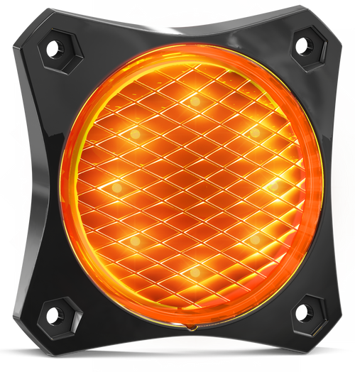 88AM2 - Indicator Rear Tail Light. 88 Series Light. Low Profiles Design. Surface Mount. Multi-Volt 12-24v. Twin Blister Pack. Autolamps. Ultimate LED.