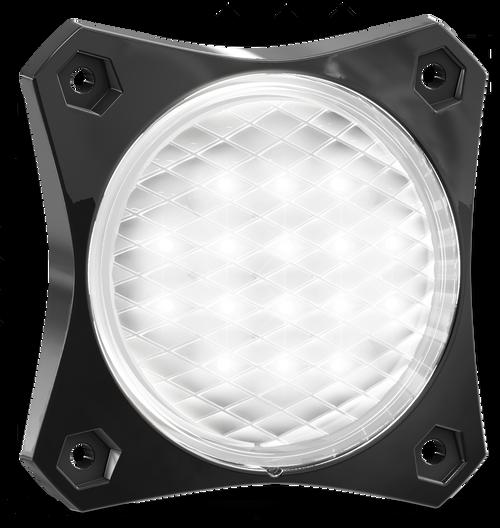 88WM2 - Reverse Rear Tail Light. 88 Series Light. Low Profiles Design. Surface Mount. Multi-Volt 12-24v. Twin Blister Pack. Autolamp. Ultimate LED.