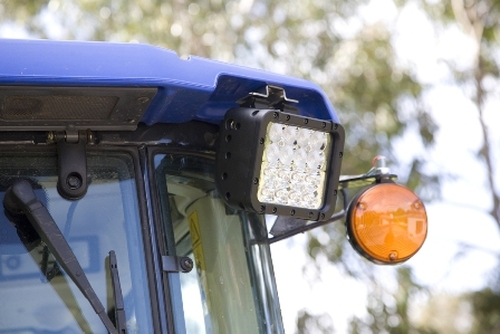 Fitment To Tractor - DWL16P LED DRIVING LIGHT Multi-Volt 9v & 32v, Mixed Flood & Spot Beam. RoadVision. Ultimate LED.