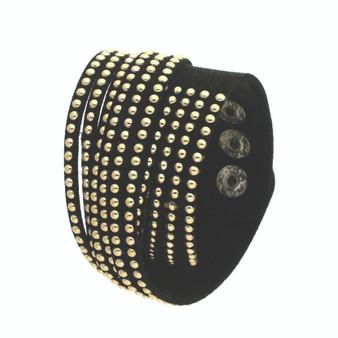Wristband w/ Studs(Black)