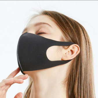 3D Reusable Mask (Black)