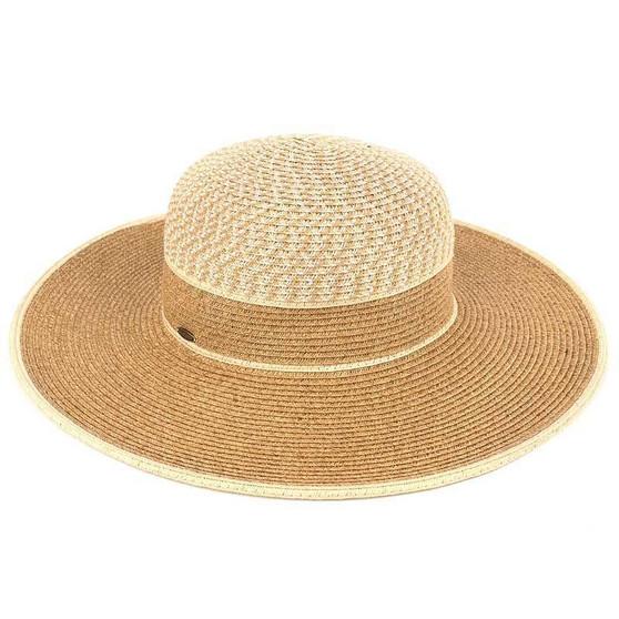 TWO TONE BRIM HAT (ST-711)