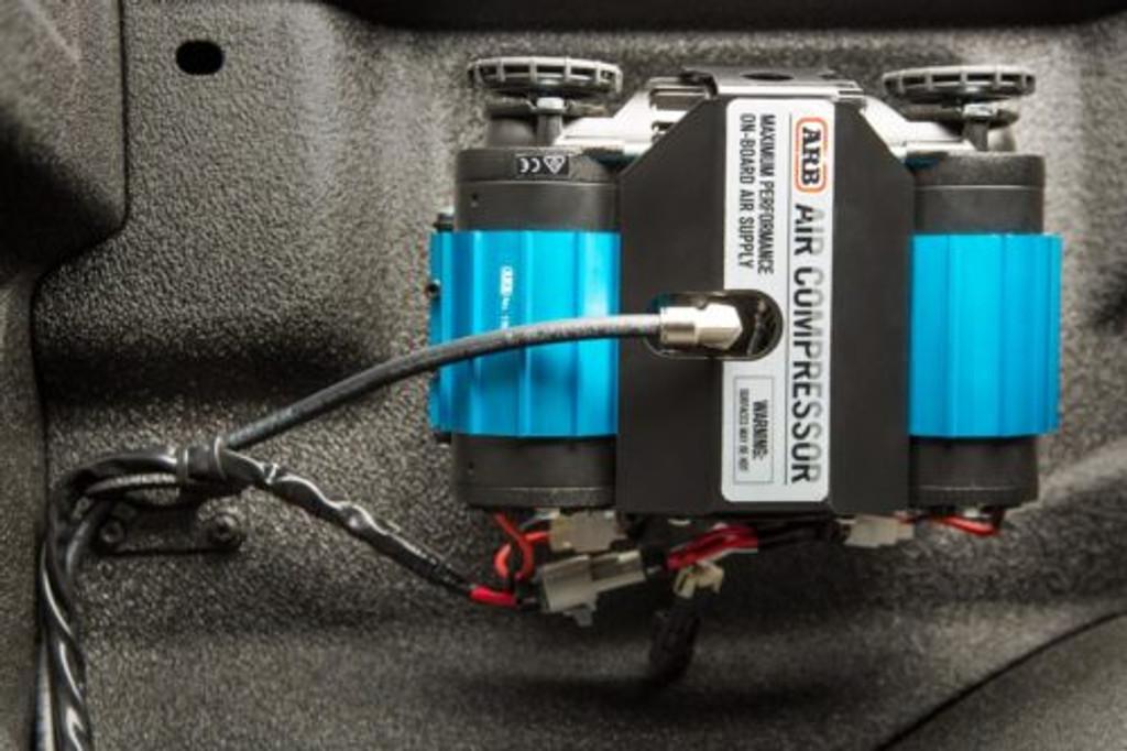22-0318 (FORD TRUCK BED ARB CKMTA12 INSTALL BRACKET KIT) FULL KIT installed/ Mounted.