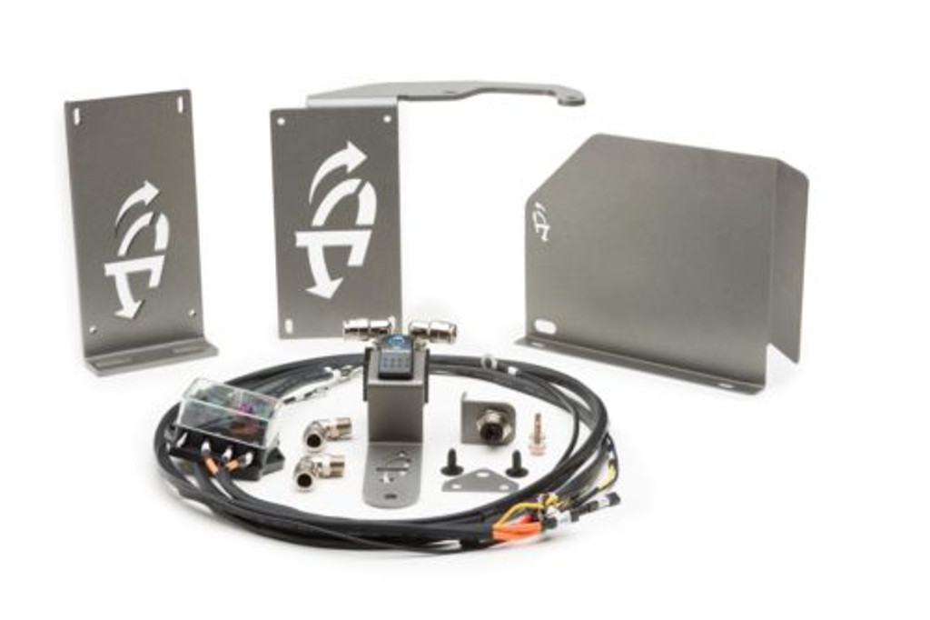 (JEEP® JK TWIN VIAIR® ENGINE MOUNT INSTALL BRACKET KIT) (22-2719). Full VIAIR Air Compressor Kit.