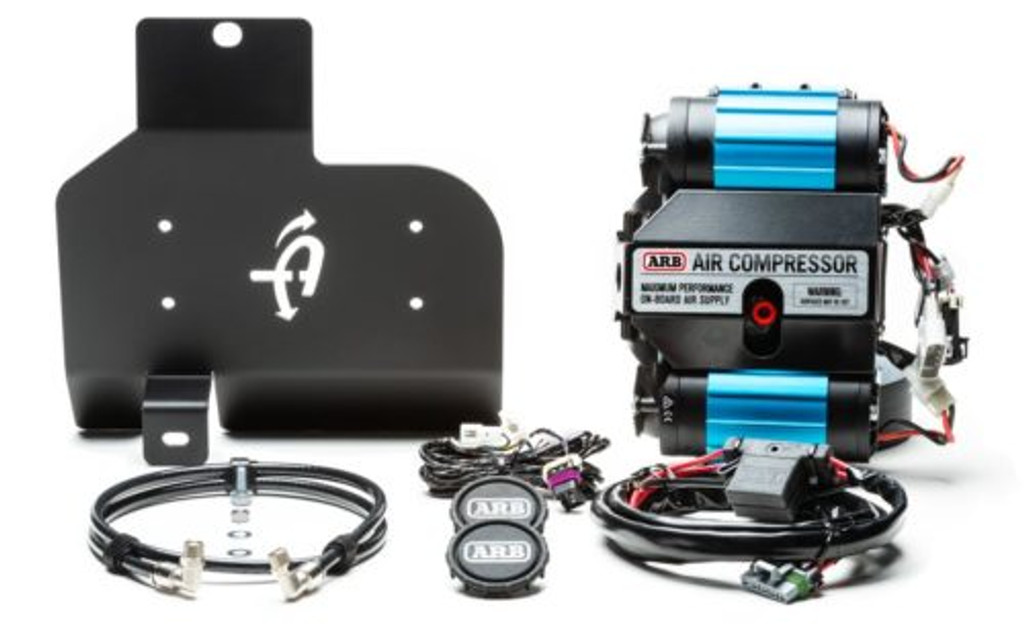 (JEEP® JL ARB® SKID PLATE MOUNTING INSTALL KIT) (22-1819) Skid Plate Kit with ARB Compressor.