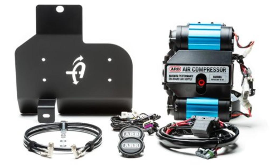 (JEEP® JL ARB® SKID PLATE MOUNTING INSTALL KIT) (22-1819) Skid Plate Kit with ARB Compressor.