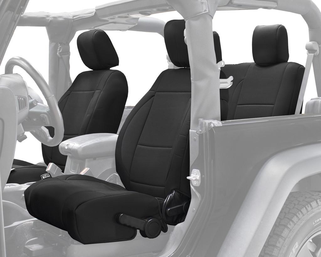 Super 11010101 King 4Wd Premium Neoprene Seat Cover Jeep Wrangler Jk 2 Door 2013 2018 Short Links Chair Design For Home Short Linksinfo