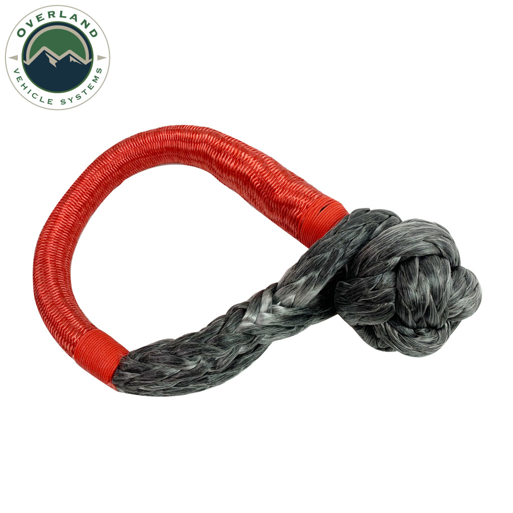 """23"""" 5/8"""" Soft Recovery Shackle With A Breaking Strength of 44,500 lbs."""