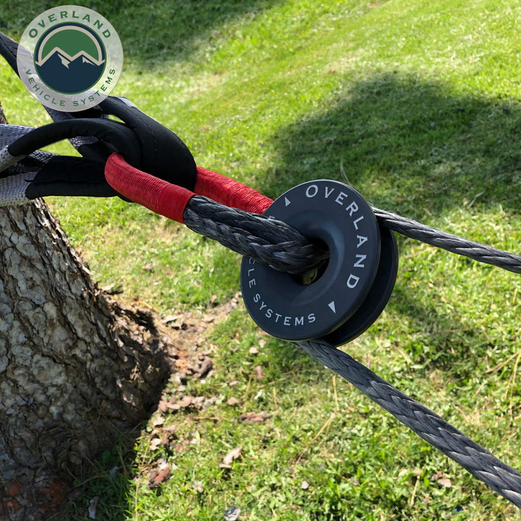 """23"""" 5/8"""" Soft Recovery Shackle With A Breaking Strength of 44,000 lbs."""
