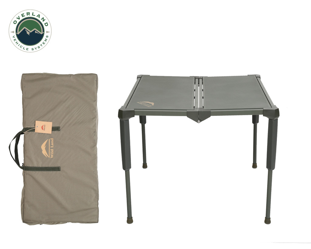 Wild Land Camping Gear - Table Size Large. Table With Carrying Case.