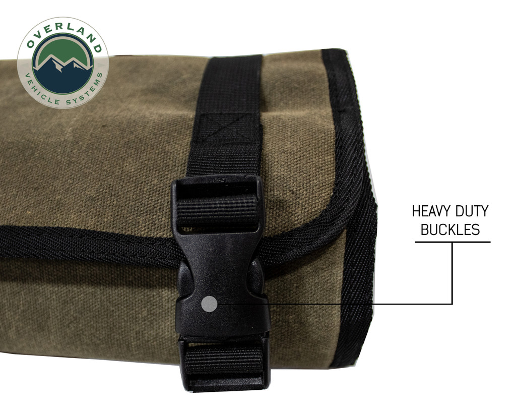 Rolled Bag First Aid - #16 Waxed Canvas Universal
