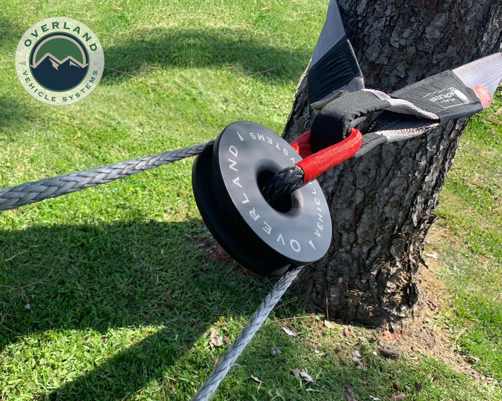 6.25 recovery ring as a snatch block