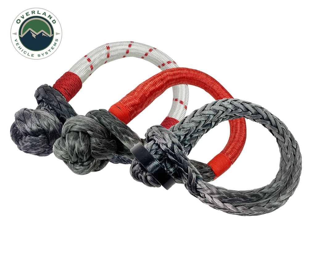 """Soft Shackle 7/16"""" 41,000 lb. With Collar - 22"""" With Storage Bag Universal"""
