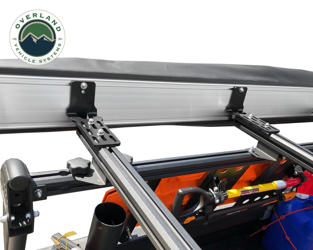 270 awning mounting brackets on bed rack