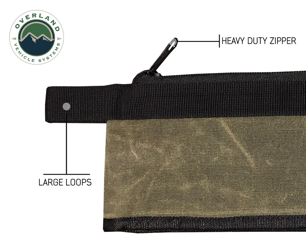 21059941 Small Bags set of 3 # 12 Waxed Canvas