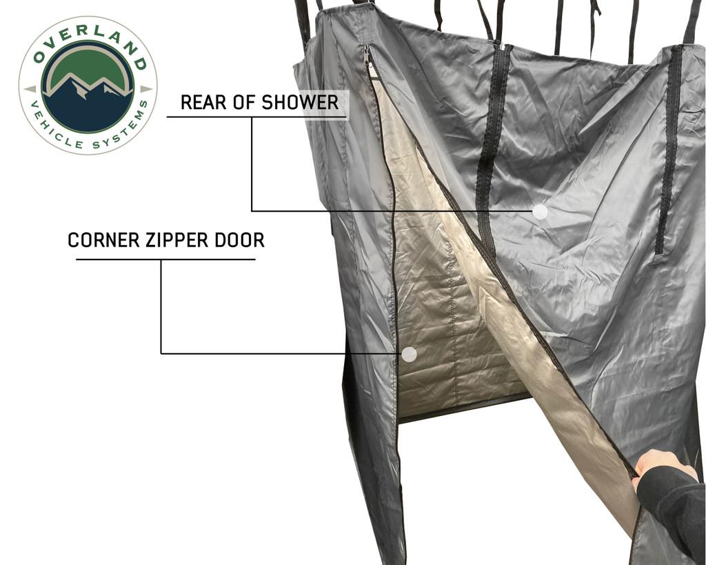 Car Side Shower Room