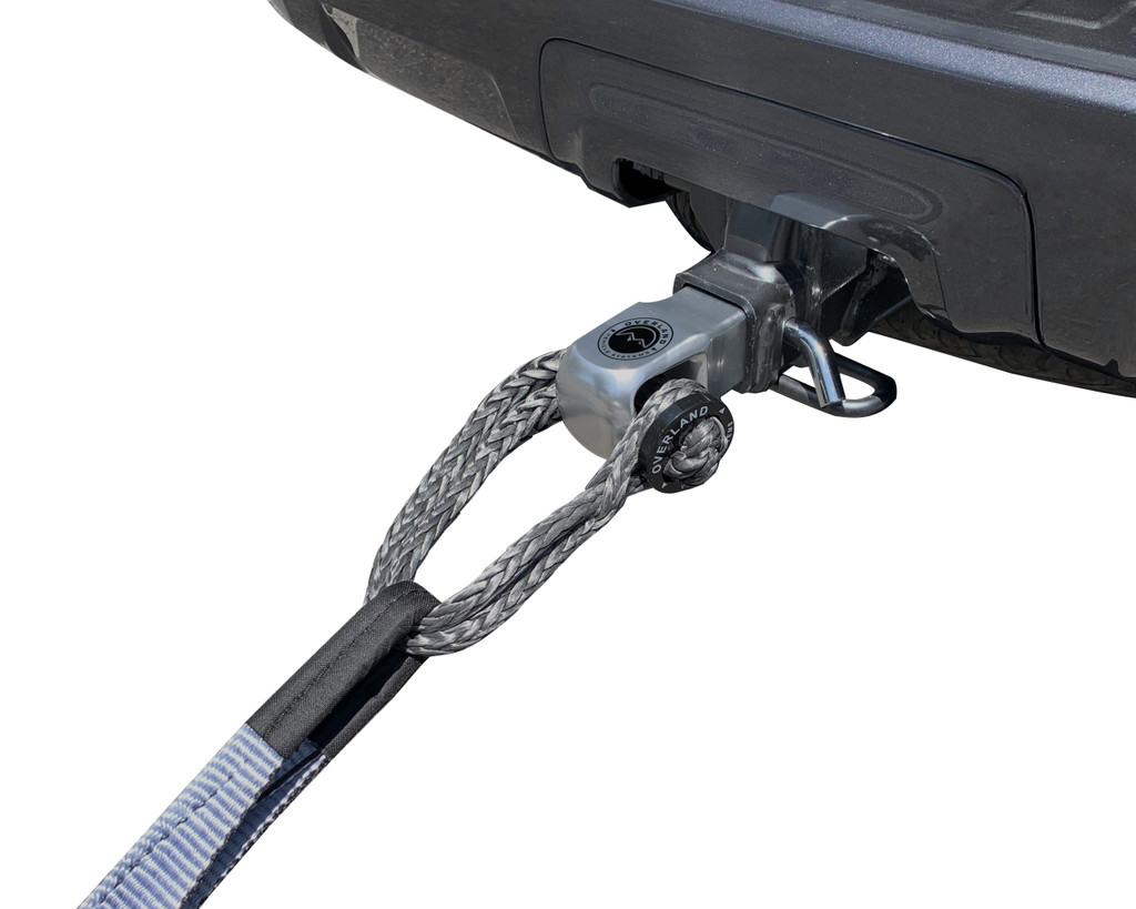 19109902 Aluminum Receiver Mount- Aluminum Receiver mount being used with a Tow Strap