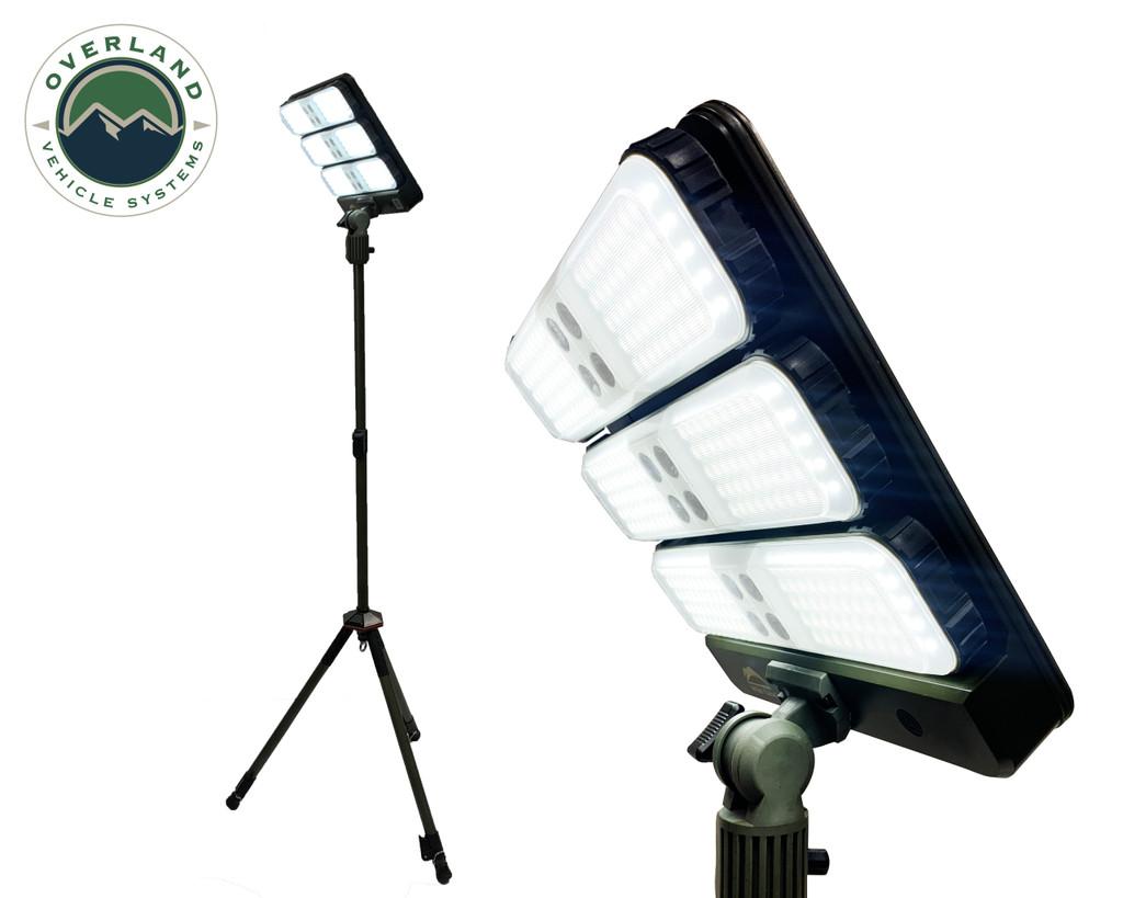 Wild Land Camping Gear - ENCOUNTER Solar Light Light Pods. Detached Lights Underside