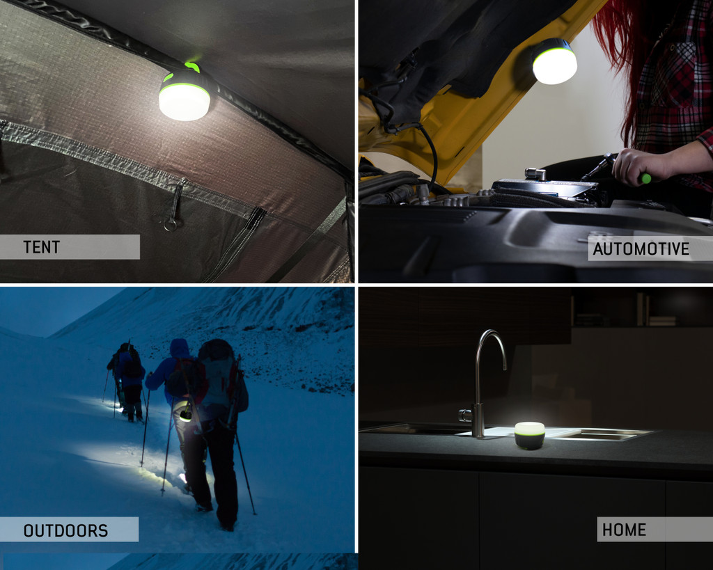15049918 portable camp light- the different applications