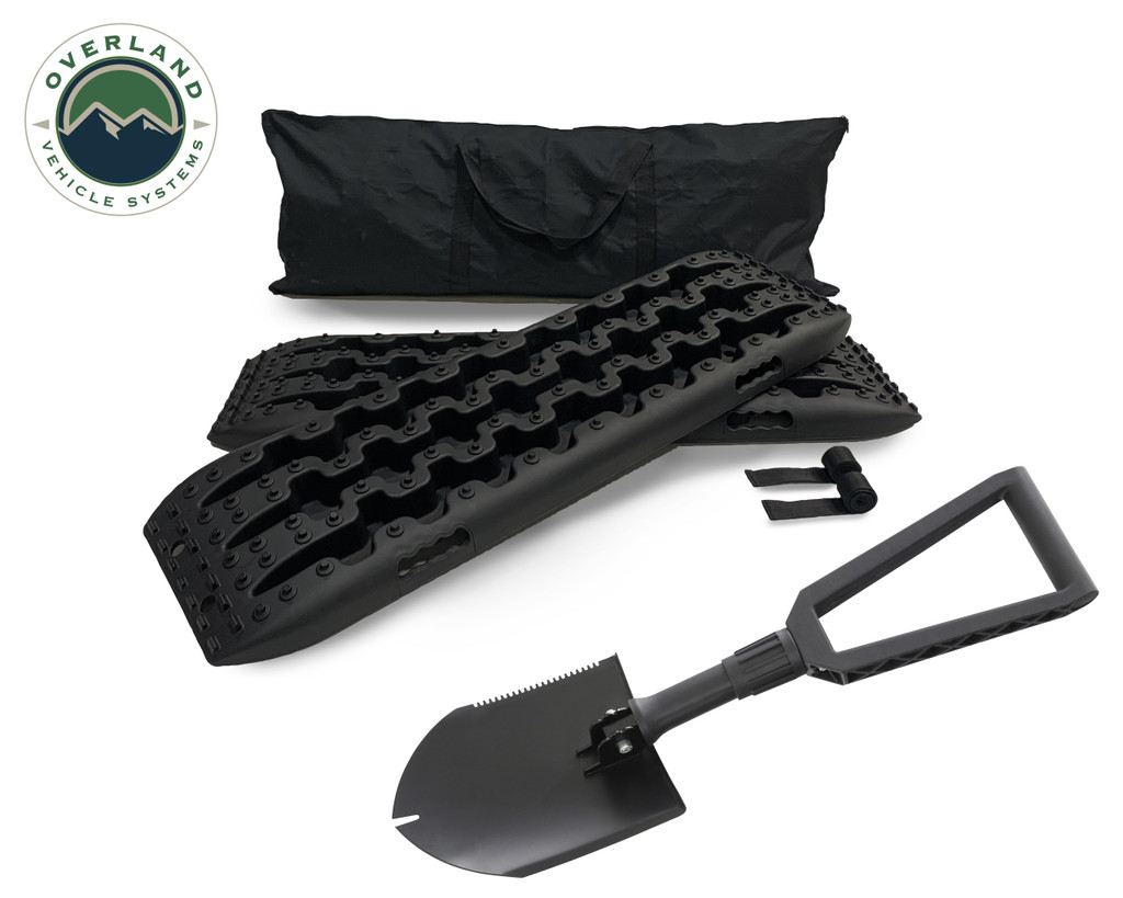 Combo Pack Recovery Ramp & Utility Shovel- Recovery Ramp in full display