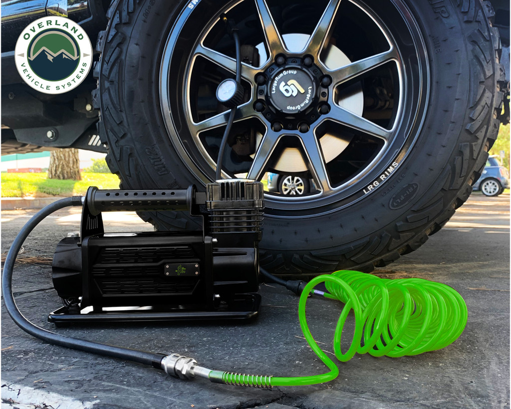 Air compressor, Digital Tire Deflator, and Digital tire Gauge combo kit