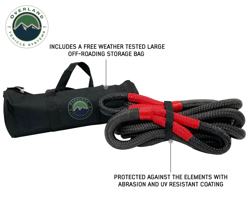 """Ultimate Recovery Package - Brute Kinetic Rope, Recovery Shovel, Recovery Ramp, 5/8"""" Soft Shackle"""