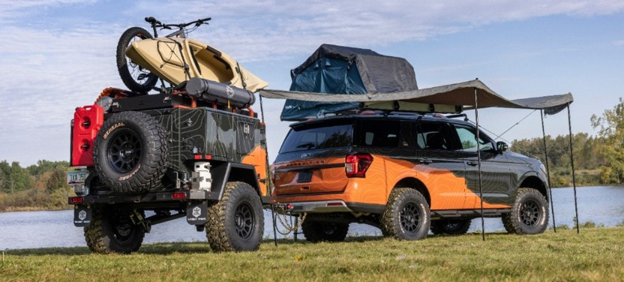 Overland Vehicle Systems Partners with Ford Motoring Company, Ford Expedition Timberline Off-Grid Concept