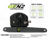 218-1819 (JEEP JL Front Engine Mount - 4 TIRE INFLATION SYSTEM) Gen2 Controller Box.