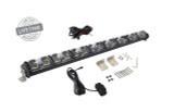 "15010401 Overland Vehicle Systems EKO 40"" LED Light Bar With Variable Beam, DRL,RGB, 6 Brightness. IP 68 rated, 124 Watts 28 Osram High Intensity LED's with Olson Chip and RGB technology. Over 50,000 Continuous hours, Aircraft Grade 6061 Aluminum Body with Heat Dissipating Fins and Lexan Polycarbonate Molded Lens."