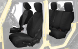 11010201 King 4WD Premium Neoprene Seat Cover Jeep Wrangler Unlimited JK 4 Door 2013-2018.