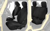 11010201 King 4WD Premium Neoprene Seat Cover Jeep Wrangler Unlimited JK 4 Door 2013-2018.