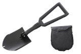 19049901 Overland Vehicle Systems Multi Functional Military Style Utility Shovel with Nylon Carrying Case