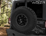 RTG Heavy Duty Tire Carrier - JK 2007-2018 Jeep Wrangler & Wrangler Unlimited