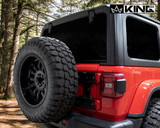 RTG Heavy Duty Tire Carrier - JL 2018-2019 Jeep Wrangler & Wrangler Unlimited