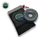 "Recovery Ring 4.00"" 41,000 lb. Gray With Storage Bag Universal"
