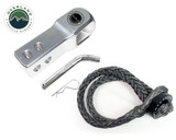 """21-6580  Combo Pack Soft Shackle 5/8"""" With Collar 44,500 lb. and Aluminum Receiver Mount"""